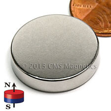 "Neodymium Disk Magnets N42 7/8x3/16"" Strong NdFeB Rare Earth Magnets Lot 50"