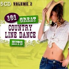 101 Great Country Line Dance Hits, Vol. 2 by The Country Dance Kings (CD,...