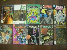 JOB LOT OF 10 US COMICS - VIGILANTE - MONGUL - AGENT LIBERTY - HOUSE OF SECRETS