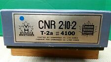 BRASS IMPORT VAN HOBBIES MODELS CANADIAN NATIONAL CNR 2-10-2 T-2a STEAM LOCO