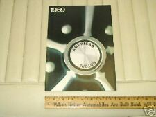1969 AMC Passenger Cars Sales Catalog Brochure