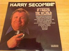 """12"""" ALBUM - HARRY SECOMBE - IF I RULED THE WORL"""