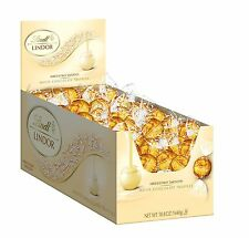 Lindt LINDOR White Chocolate Truffles 120 Count