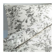 NEW Ikea ALVINE KVIST Duvet Quilt Cover Set Twin White, gray