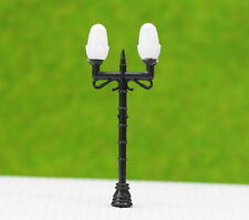 LNH35 10pcs Model Railway Lamppost lamps Street Lights HO OO TT Scale LEDs NEW