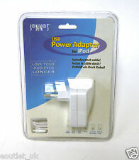 Sonnet Euro USB Power Adapter for iPod NEW UNOPENED European USB Charger