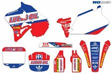 Graphic Kit Honda CR 125/250 Decal Backgrounds Sticker CR125 95-97 CR250 95-96 L
