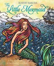 Fine NEW AUTOGRAPHED Hardcover 1st Ed Pop Up Robert Sabuda Little Mermaid