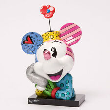 ROMERO BRITTO DISNEY MINNIE MOUSE BUST FIGURINE  -- NEW --