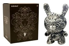 Kidrobot It's a F.A.D. Dunny by J*Ryu 8-inch Vinyl Figure - Pewter Chase