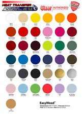 "Heat Transfer Vinyl Siser Easyweed 15""x5 Yards Select your colors Free Shipping"