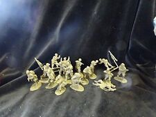 CONTE AIRBORNE US PARATROOPS 82ND 101ST DDAY BASTOGNE 16 FIGS 1/32 RARE SET #2