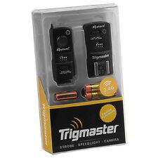 Bb355 Aputure trigmaster set con transmisor + 2 destinatario + mando Nikon