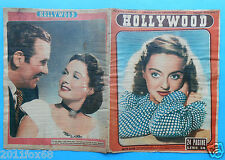hollywood teatro cinema bette davis gail patrick preston foster italian magazine