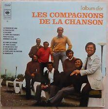 Les compagnons de la chanson l'album d'or vinyle 33 T
