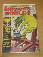 UNKNOWN WORLDS #46 VG (4.0) AMERICAN COMICS GROUP MARCH 1966 COVER A