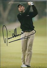 David HOWELL SIGNED Autograph 12x8 Photo AFTAL COA Dunhill Links Winner GOLF