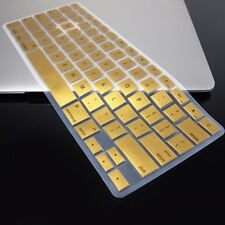 METALLIC GOLD Keyboard Cover Skin for Macbook Air 13""