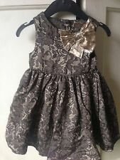 Brand New Miniclub Party Dress. Girls. Age 0-3 Months. Christmas/ Wedding