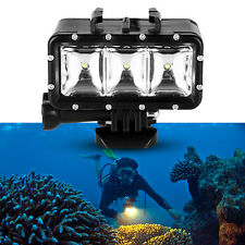 Diving Waterproof LED Video Flash Spot Light for Gopro 4 3+ 3 2 1 SJ4000 Camera