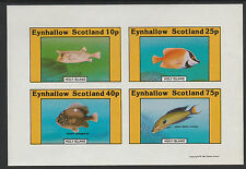 GB Locals - Eynhallow (1100) 1981 FISH  imperf sheetlet unmounted mint
