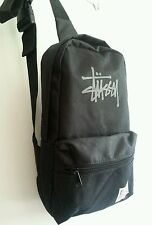 Stussy X 2011 Multi-use Small Black Backpack Crossbody Bag from Japan'sMagazine