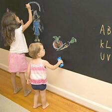 60*200cm DIY Blackboard Waterproof Chalk board Wall Paper Decal Sticker Reusable