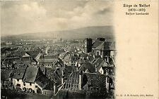 CPA  Siége de Belfort(1870-1871) -Belfort bombardé (293349)
