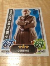 STAR WARS Force Awakens - Force Attax Trading Card #009 General Jan Dodonna
