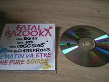 CD PROMOTIONNEL FATAL BAZOOKA
