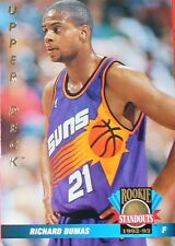 CARTE DE COLLECTION NBA BASKET BALL 1993  ROOKIES STANDOUTS RICHARD DUMAS (71)