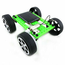Mini Solar Powered Toy DIY Car Kit Children Educational Gadget Hobby Funny CR