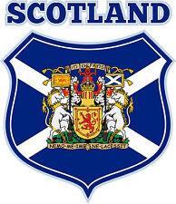 PREMIUM Aufkleber Schottland Wappen Autoaufkleber Auto Motorrad Styling Sticker