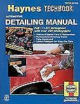 Automotive Detailing Car Cleaning Haynes Manual Publishing Book
