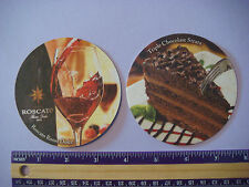 Beer Bar Coaster ~**~ Olive Garden Triple Chocolate Strata ~ Roscato Rosso Dolce
