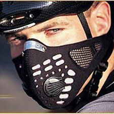 New Anti Dust Motorcycle Bicycle Cycling Racing Bike Ski Half Face Mask Filter
