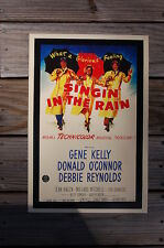 Singin' in the rainLobby Card Movie Poster Gene Kelly Donald O'connor