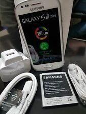 SAMSUNG GALAXY S3 MINI 3G SIM FREE MOBILE PHONE WHITE BNIB