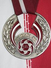 Latvian football championship medal for the second place Virs-Liga 2008