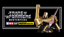 AUTHENTIC TAKARA TRANSFORMERS MASTERPIECE MP-5G MP05G MEGATRON GOLD MP-05G SALE