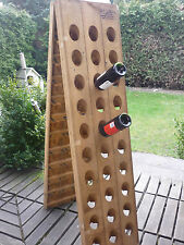 Exclusive Champagne Riddling Rack for 60 Wine Bottles WITH NICE BRANDING