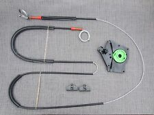 WINDOW LIFTER REPAIR KIT CABLE&CLIPS RIGHT OSF DRIVER SIDE IBIZA 3 2/3 D 99-03