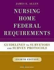 NURSING HOME FEDERAL REQUIREMENTS [978082617124 - JAMES E. ALLEN (PAPERBACK) NEW