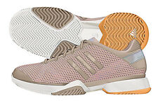NIB adidas Women by Stella McCartney Barricade Running Shoe Ginger/White 11.5