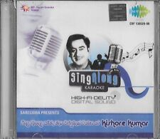 KISHORE KUMAR  SING ALONE WITH THE ORIGNAL VOICE  .NEW BOLLYWOOD CD FREE UK POST