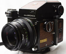 [Exc+++++] Zenza Bronica ETRS 20th  Anniversary  w/ 75mm f/2.8  From Japan #314