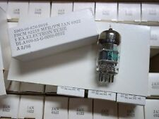 Vacuum Tubes -   6922 JAN/ PHILIPS   (2  NOS/NIB)  SAME DATE  3/86  (25 OFFERS)