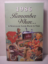 31st Birthday / Anniversary - 1986 Remember When Nostalgic Book Card  - NEW
