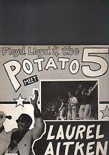 FLOYD LLOYD & THE POTATO 5 meet LAUREL AITKEN -  LP