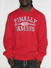 $59 NWT Ecko Unltd Finally Famous Big Sean Crewneck Sweater S Red Hoodie